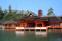 Main pavilion and Five-storied pagoda