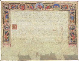 Certificate of Roman citizenship